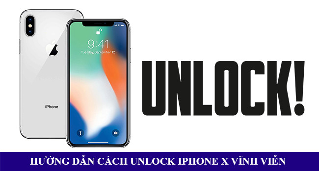 Hướng dẫn unlock mở mạng Iphone X, XS, XS Max, XR vĩnh viễn